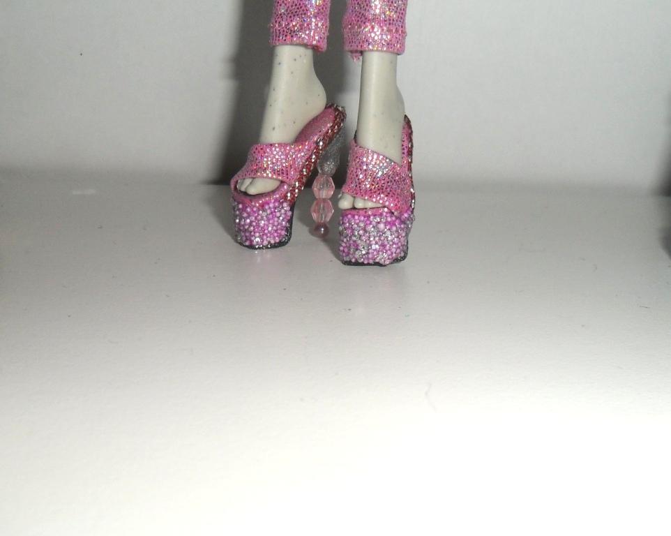 Как сделать туфли для куклы монстер хай легко - Russkij-Litra.ru